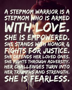 Stepmom Warrior defined
