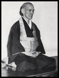 Roshi Hakuun Yasutani