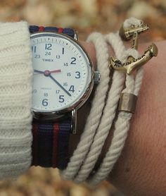 Miansai bracelets *Beige, black or navy accessories to be worn regularly and match extensively