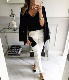 How To Get And Buy Gorgeous Stylish Clothes – Clothing Looks Business Casual Outfits, Office Outfits, Business Fashion, Classy Outfits, Chic Outfits, Trendy Outfits, Fashion Outfits, Womens Fashion, Summer Outfits