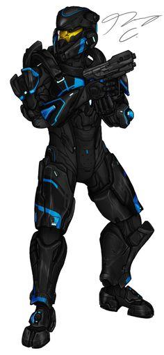 Commission - Spartan NanoDefiant by Guyver89 on DeviantArt
