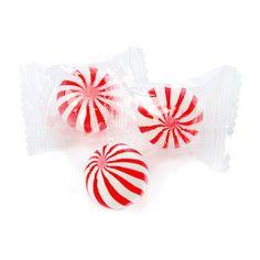 Sassy Candy Balls - Red & White, Cherry
