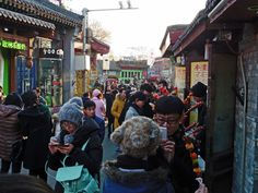 Old, narrow shopping streets in Beijing. Shopping Street, Amazing Race, Beijing, Shops, Racing, In This Moment, Search, Travel, Asia