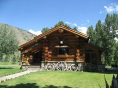 Stanley, Idaho Log Home and Ranch