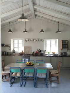 dream kitchen Roses and Rolltops : Travel - Villa Iriti, Corfu. Greek Island Heaven.