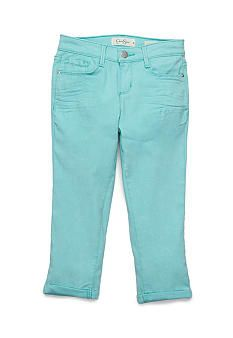 Jessica Simpson Forever Rolled Jean Capris Girls 7-16