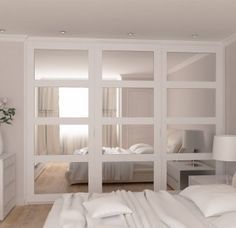 Vetro – framed mirrored sliding doors wardrobes range