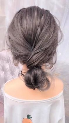 Step By Step Hairstyles, Easy Hairstyles For Long Hair, Up Hairstyles, Short Ponytail Hairstyles, Banana Clip Hairstyles, Heatless Hairstyles, Medium Hair Styles, Short Hair Styles, Medium Fine Hair