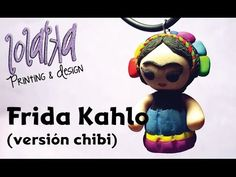 Tutorial Porcelana Fria Calaverita Frida / clay - cold porcelain - YouTube