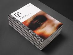 Q-TV // A book about Quality Television Series on Editorial Design Served