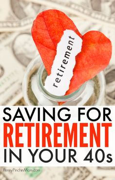 If you are in your 40s, you may think it is too late to start saving for retirement. That's not true!  There is still plenty of time for you to get a nice nest egg saved up - you just need to know where to start, what to avoid and how to get back on track with your retirement plan.  Saving for retirement | investing | saving money | personal finance | retirement savings accounts  #retirement #personalfinance