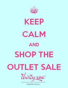 If you do not have a thirty one consultant but would like to shop my OUTLET SALE *STARTING TOMORROW* JULY 18-20......PLEASE COMMENT WITH YOUR EMAIL BELOW OR EMAIL ME @ jmeghuck@gmail.com With your email so I can send you my specific outlet link!!