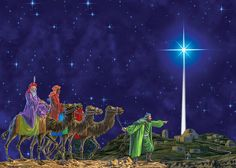 January 6 - Epiphany - the coming of the Wise Men to see Baby Jesus A story told so often we know it by heart, or do we? Jesus was th. Christmas Star, Christmas Music, Merry Christmas, Christmas Glitter, Christmas Images, Christmas Baubles, Bible Stories For Kids, Bible For Kids, Elisabeth Schwarzkopf