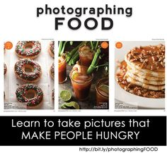 Learn to take pictures that make people HUNGRY with Taylor Mathis at TidyMom.net #photography