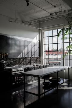 A Noirish Studio For San Francisco Design Star