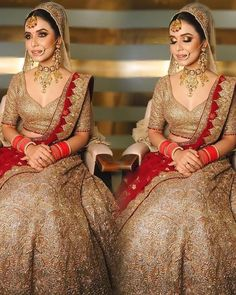 # Casual Outfits indian bridal lehenga Stunning Golden Bridal Lehenga with Red Dupatta Golden Lehnga, Golden Bridal Lehenga, Indian Bridal Lehenga, Indian Wedding Outfits, Bridal Outfits, Bridal Dresses, Indian Weddings, Indian Outfits, Party Dresses