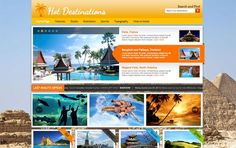 WordPress Themes hotthemes Hot Destinations