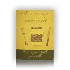 Mustard Tea Towel.