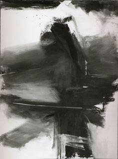 Franz Kline - Black, White, and Gray, 1959 © 2011 Artists Rights Society (ARS), New York [image via The Metropolitan Museum of  Art] See more Franz Kline posts here.