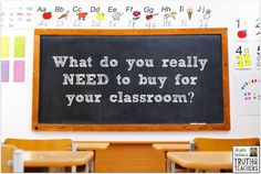 How to figure what to buy for your classroom: 3 criteria to consider