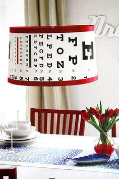 eye chart style. everything.