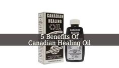 Canadian Healing Oil is a miracle medicine. It should be in every home, due to its numerous purposes. It reliefs pain, reduces inflammation and more.