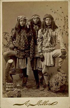 Apache brothers - circa 1888