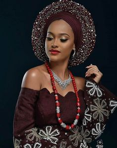 Aso Oke Headtie African gele Headtie aso oke with stones Wrapper Scarf 2 meters colors available for women fashionable 30 African Lace, African Dress, African Style, African Scarf, African Girl, African Fashion Ankara, Latest African Fashion Dresses, African Wedding Attire, African Attire