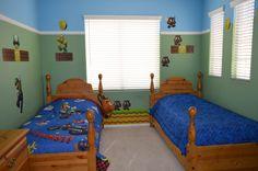 Mario room! My youngest boys bedroom.