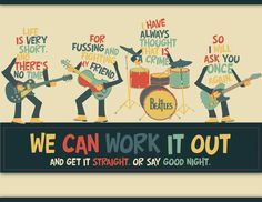 Beatles- we can work it out