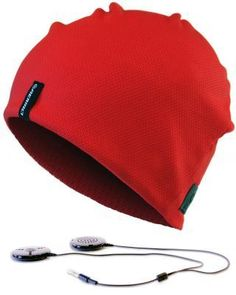 Aerial 7 headphone hat - yep, it has built-in speakers!