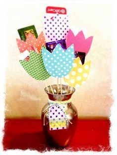 Gift Card Bouquet... great for Mother's day, teacher appreciation, graduation, wedding, etc.