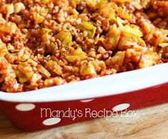 The solution to making cabbage rolls without spending a lot of time on them is this recipe: Lazy Day Cabbage Roll Casserole. Instead of stuffing the cabbage with filling and rolling them individually, just mix everything together.