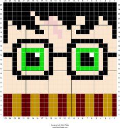 Harry Potter   Designed by PixiTrix (Kimberly Allard)   Stitch Fiddle - Stitch Fiddle