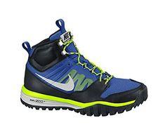 31d2216356 New Nike Men's Dual Fusion Hills Mid Boot Royal Blue/Volt 8 Nike http: