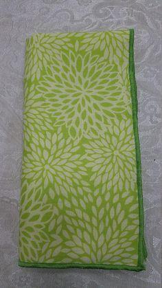 Set of 6 Cloth Napkins/Dinner Napkins/Floral Napkins/Spring