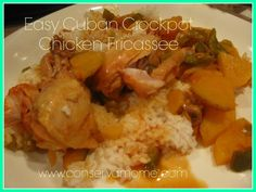 This is *my* version of Cuban Fricase that I altered for the Crockpot, that I think even my Aba (grandmother) would have liked. Something interesting to point out with Cuban cooking and even Cuban culture in general is that it's not your typical Caribbean fare you would find say in Jamaica or Bahamas because a …