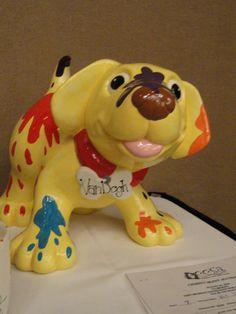 giant dog figurine Van Dogh
