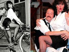 ESSEX-born actress Vicki Michelle came to fame in the as saucy waitress Yvette Carte-Blanche on the BBC sitcom 'Allo 'Allo! Vicki Michelle, British Comedy, Comedy Tv, Flappers, The Beatles, Film, Actresses, Dad's Army, Nylons