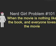 Nerd Girl Problem #101