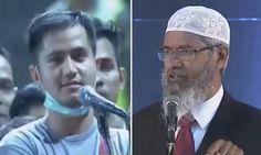 Pertanyaan Anak Tuhan Dijawab Dr Zakir Naik dengan Brilian Pemuda Tampan Ini Masuk Islam
