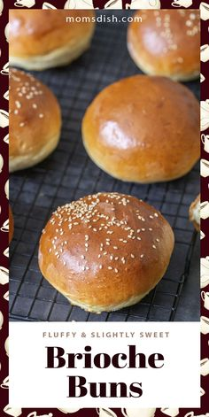 Brioche buns are perfect for summer burgers and sliders. These brioche buns turn out super fluffy and slightly sweet. You can prep and freeze these and use them throughout the summer. These buns are the best addition to any household and they are way better homemade. #briochebread #briochebuns #breadrecipes #homemadebread
