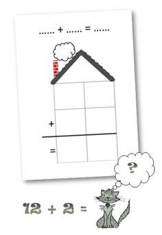 Puzzles additions et soustractions chiffre pinterest - Logiciel educatif fr math tables addition ...