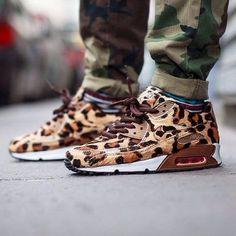 Leopard  Air Max 90 sneaker