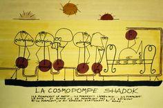 Les shadoks sur la cosmopompe