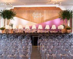 Create + Cultivate Los Angeles 2016 Conference Recap - New Deko Sites Stage Set Design, Church Stage Design, Ashley Brooke, Corporative Events, Corporate Event Design, Style Blogger, Backdrop Design, Wedding Preparation, Event Styling