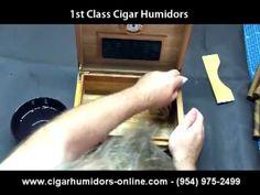 Setting Up Your New Cigar Humidor - Humidor Setup & Humidor Maintenance
