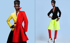 Androgynous Sophistication Editorials