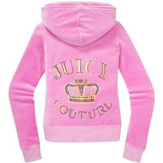 Juicy Couture Original Jacket in Varsity Crown Velour ($70) ❤ liked on Polyvore featuring outerwear, jackets, hint of sugar, juicy couture, slim jacket, juicy couture jacket, velour jacket and pink metallic jacket
