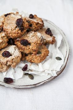 ... buckwheat cranberry power cookies ...